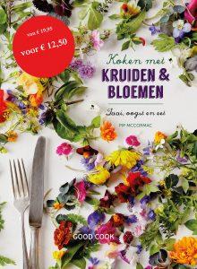 Koken met kruiden & bloemen 2D sticker