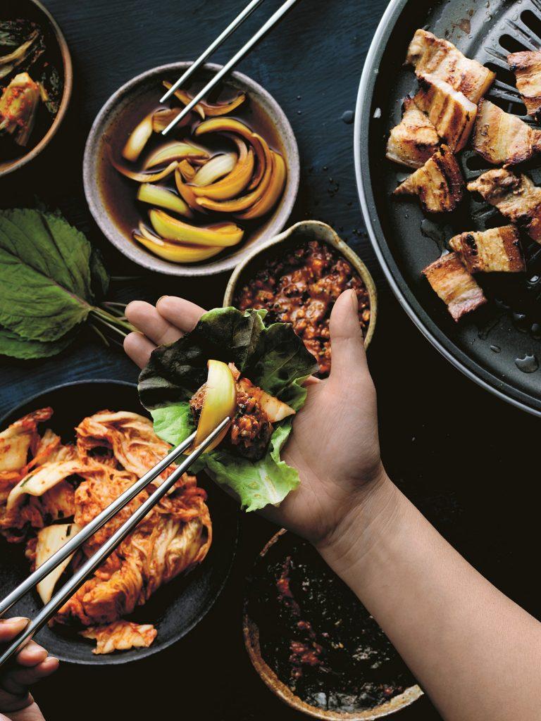 Samgyupsal uit Yakitori & Korean BBQ